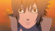 Sasuke's Awakened Mangekyou Sharingan