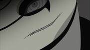 A rachadura na máscara de Tobi