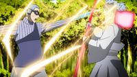 Liberação de Relâmpago - Manipulação da Cobra Elétrica (Urashiki - Anime)
