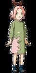 Sakura Haruno (Criança Render)