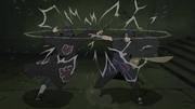 Taijutsu de Itachi e Sasuke