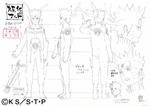 Diseño de Naruto Modo Chakra del Nueve Colas por Pierrot