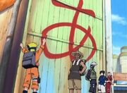 El Equipo Kakashi junto a Tazuna parten de Konoha