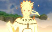O Kyūbi Chakura Mōdo de Naruto