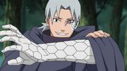 Orochimaru's remains taking over Kabuto