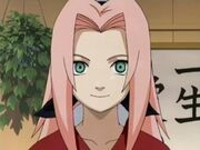 Sakura con pelo largo