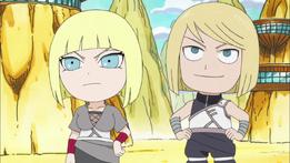 Samui y Atsui Naruto SD