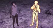Sasuke e Naruto preparados para enfrentar Momoshiki