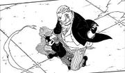 Shojoji captura Tentō pela cabeça