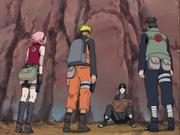 Yamato łapie zdrajce drużyny 7