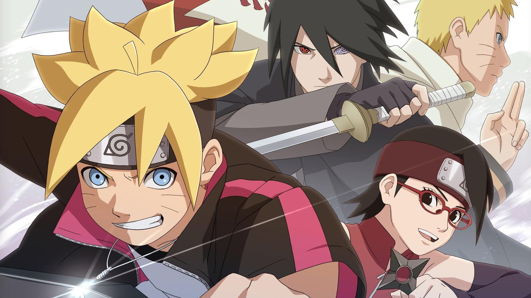 Boruto Naruto Next Generations - Naruto Gaiden Ending