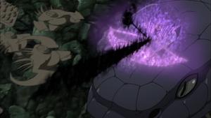 Elemento Llama Susanoo Kagutsuchi Anime