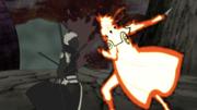Minato attaque Obito