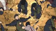Ninja similar a Sasuke muerto