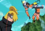 Deidara vs Naruto