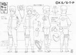 Diseño de Naruto Genin por Pierrot
