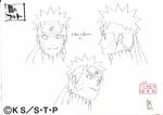 Diseño de Naruto Oscuro Boceto por Pierrot