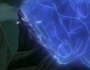 Mei es atacada por uno de los Susanoo de Madara