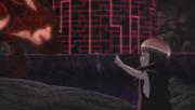 Miina detiene la influencia de Kurama sobre Naruto