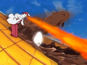 Elemento Fuego Bala Dragón de Fuego