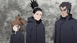 Hinoko, Shikamaru e Rou in missione