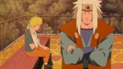 Jiraiya propone a Naruto entrenar con él de nuevo