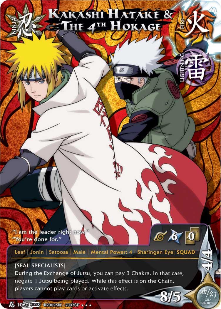 Imagen - Kakashi Hatake y el Cuarto Hokage 2 TotGS.png | Naruto Wiki ...