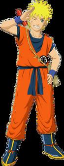 Naruto Traje de Goku