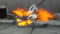 Projétil de Liberação de Fogo Chamas (Momoshiki - Game)