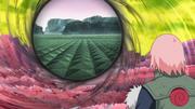 Sakura e Obito veem a dimensão gravitacional