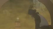 Dodai hablando con el clon de Naruto después de salvarlo
