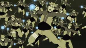 Gran Grupo de Super Esferas Giratorias Anime