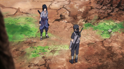 Itachi y Sasuke se reencuentran