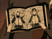 Las páginas centrales del libro según Sai