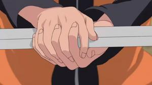 Arte Ninja Verdadera Captura de Espada con las Manos Desnudas Anime