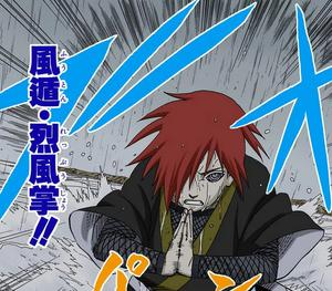 Elemento Viento Violenta Palma de Viento Manga