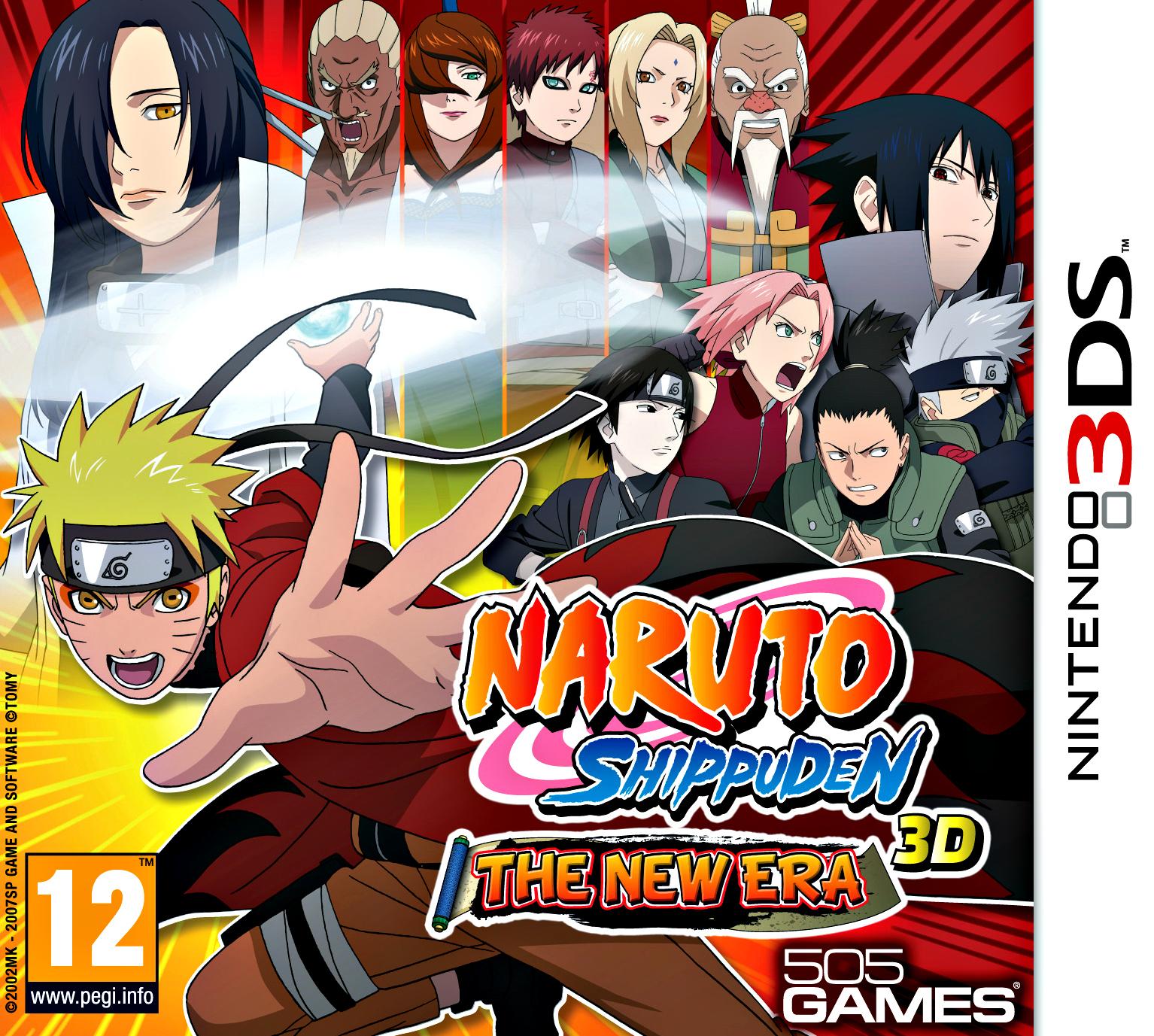 Narutopedia: Naruto Shippūden 3D: The New Era