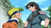 Naruto y Shibuki discutiendo