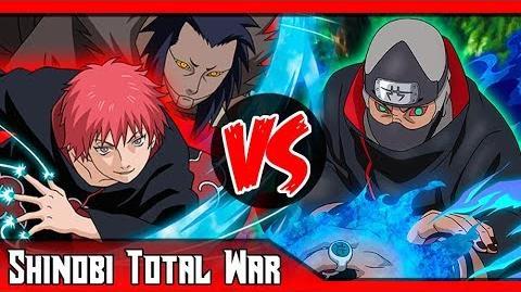 Sasori VS Kakuzu ¿Quién ganaría? SHINOBI TOTAL WAR