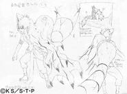 Arte Pierrot - Gaara (Transformação²)