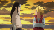 Boruto and Neji talk