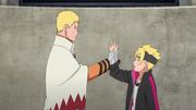 Naruto descubre a su hijo