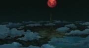 Shinju en el campo de batalla y el Plan Ojo de Luna casi completo