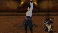 Técnica de Cintilação Corporal (Orochimaru - Game)