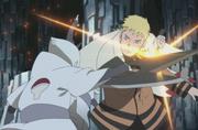 Clones de Naruto vs. Clones de Shin