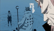 Hagoromo recuerda su conversación con Sasuke Manga