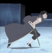 Manifestação dos Receptores de Chakra (Obito Uchiha - Anime 1)