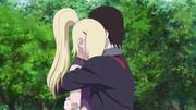 Sai Hugs Ino