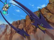 Seimei usando a Espada de Garian