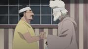 Dokku y El abuelo de Miina y Leo